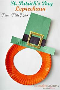 25 best ideas about paper plate masks on pinterest With leprechaun mask template