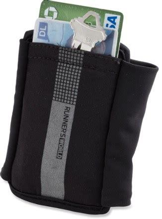 runners world wrist wallet rei  op