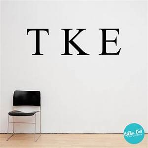 greek letter wall decals sorority and fraternity greek With greek letter wall decals