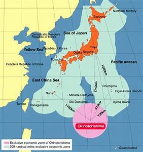 Japan Takes Large Southern Extension of Continental Shelf