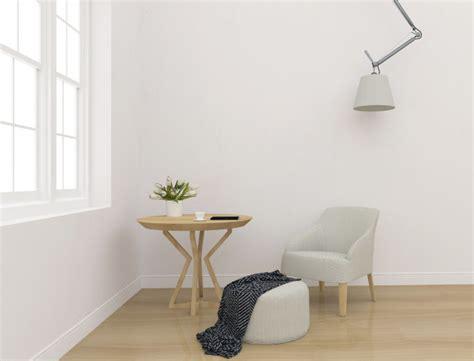 white interior blank wall mockup wall art display