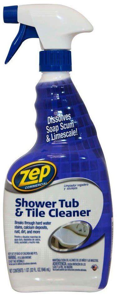 zep tile cleaner zep zustt32pf shower tub tile cleaner 32
