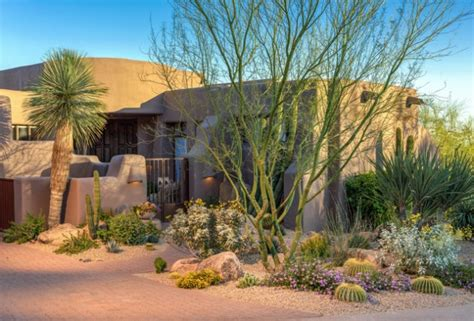 amazing southwestern landscape designs   increase  outdoor appeal