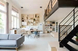 schoolhouse converted into 10 loft apartments - Apartments Garages Floor Plan