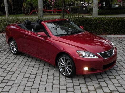 2013 Lexus Is 250c Convertible Fort Myers Florida For Sale