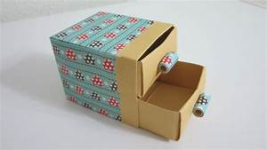 Tutorial - How To Make Cute Practical Boxes  Shelf With Drawers
