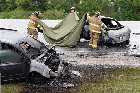 Fatal Crash Closes E.c. Row
