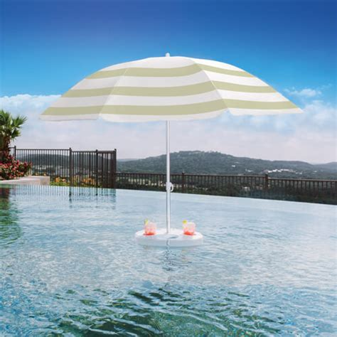 pool buoy floating pool umbrella backyard home