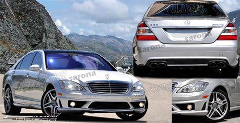 custom mercedes  class sedan body kit