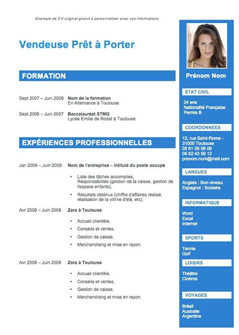 Model De Cv Word 2015 by Exemple De Cv Word 2015 Exemple De Pr 233 Sentation Cv