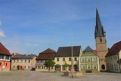 Baunach Marktplatz Wikipedia Commons Wikimedia Miasto