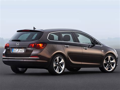 Opel Astra Wagon by Astra Wagon J Facelift Astra Opel Database Carlook