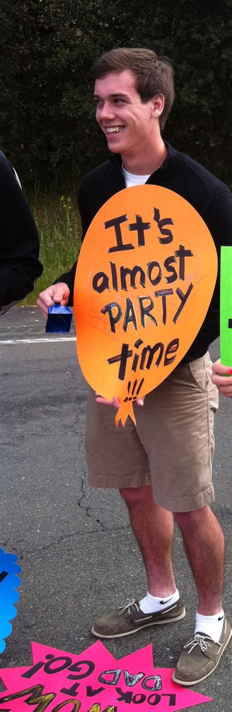 It's Almost Party Time!  Best Race Signs