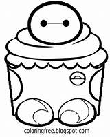 Muffin Cute Drawing Getdrawings sketch template