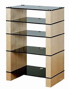 Tv Hifi Rack : blok stax deluxe 500 five shelf ash hifi stand av tv ~ Michelbontemps.com Haus und Dekorationen