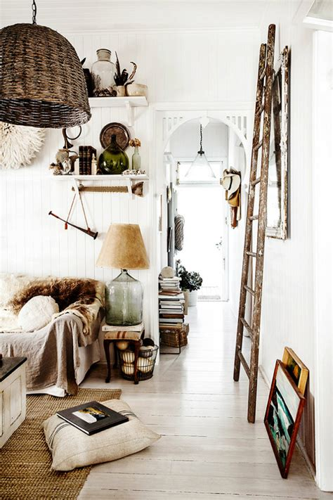 Boho-chic Ethnic Inspiration In Interior Design Projects