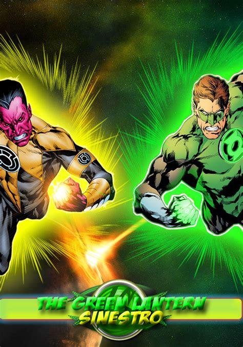 green lantern vs sinestro by kreshnikgj on deviantart