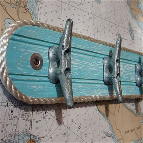 Boat Cleats As Hooks by Wall Hook Rack Galvanized Boat Cleats From