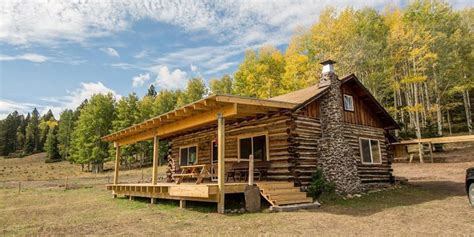 Cabin For Sale - estately new mexico cabin rustic log cabin for sale