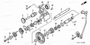 Honda Motorcycle 2003 Oem Parts Diagram For Reverse Gear