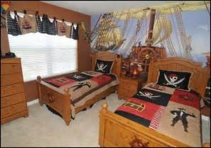 Pirate Theme Bedroom Decorating Ideas