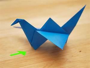 Comment Faire Un Oiseau En Papier : comment faire un oiseau volant en origami 21 tapes ~ Melissatoandfro.com Idées de Décoration
