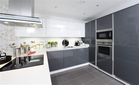 photo  grey white linden homes kitchen kitchen