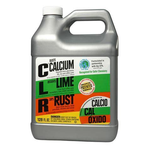 clr  gal calcium lime  rust remover  case cl