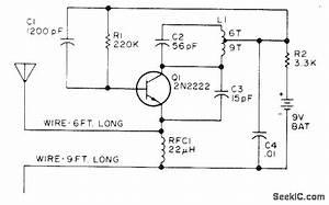 Tune Up Aid - Amplifier Circuit - Circuit Diagram