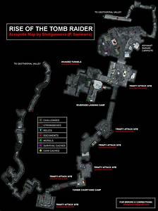 Rise of the Tomb Raider The Acropolis Map for PlayStation ...