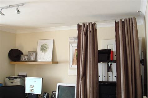 Ikea Hacker Curtain Room Divider by Cheryl S Cozy Room Divider Ikea Hackers Ikea Hackers