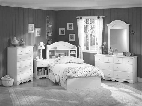 Girls White Bedroom Furniture As By Excerpt Shabby Chic