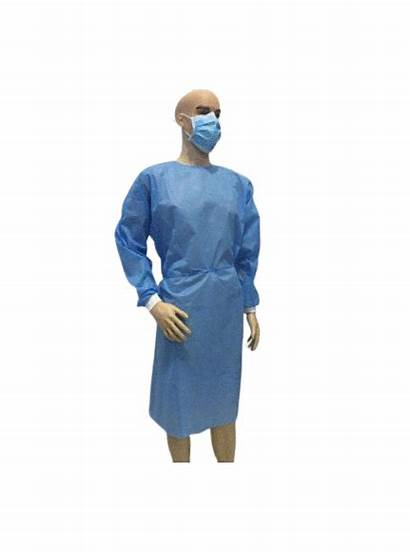 Surgical Disposable Sterile Gown Hospital Reinforced China