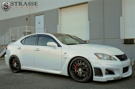 lexus isf white lexus is f white strasse wheels tuning cars wallpaper