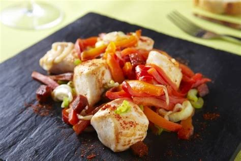 recette de cubes de poulet 224 la plancha oignon poivron et chorizo facile