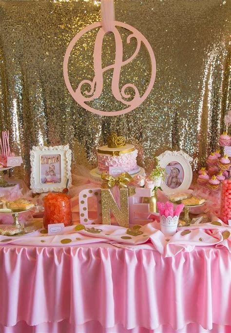 Pink White And Gold Birthday Decorations by Bridal Shower Pink And Gold Birthday Ideas