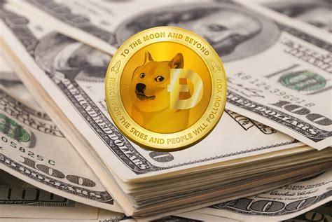 dogecoin doge achieves market cap   million