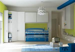 Chambre Enfant Moderne : camerette moderne mobil house mosciano ~ Teatrodelosmanantiales.com Idées de Décoration