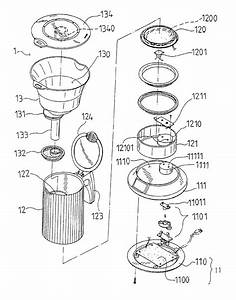 Coffee Maker Exploded View