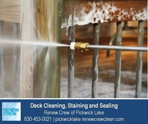 Cleaning Deck With Solution by Pin By Renew Crew Of Pickwick Lake On Deck Cleaning