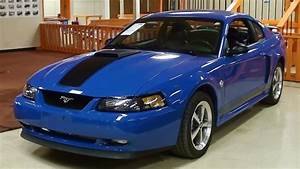 2004 Ford Mustang Mach 1 4.6 Liter DOHC V8 40th Anniversary - YouTube