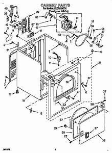 Cabinet Diagram  U0026 Parts List For Model 3ler5436eq1