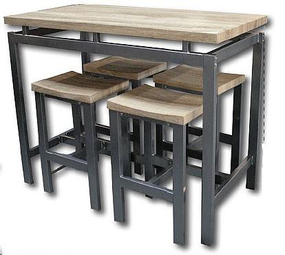 table haute de cuisine et tabouret table haute tabouret cuisine cuisine en image