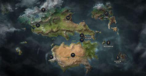 check   detailed  interactive map  runeterra