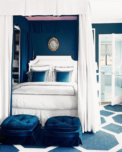 Royal Blue Bedroom by Blue Bedroom Transitional Bedroom Mcdonald