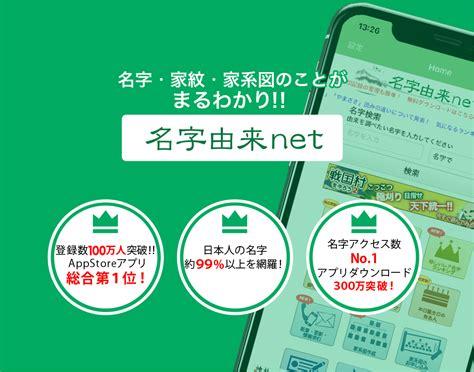名字 由来 net
