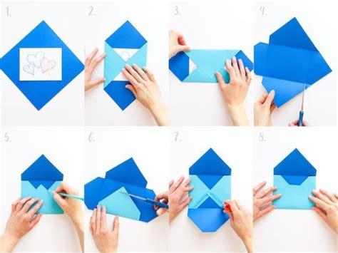 briefumschlag selber falten briefumschlag falten interessante diy ideen und anleitungen