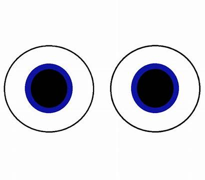Eyes Moving Eye Animation Clipart Clip Looking