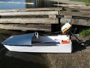 Small Homemade Speed Boat