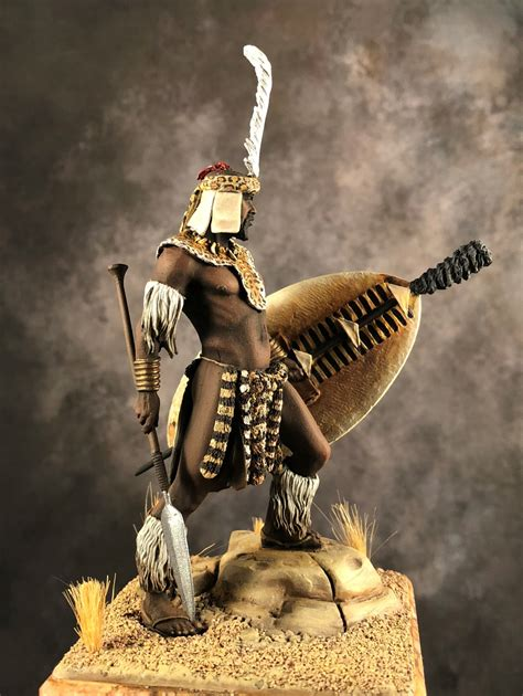 zulu warrior  juan ignacio corujo puttypaint